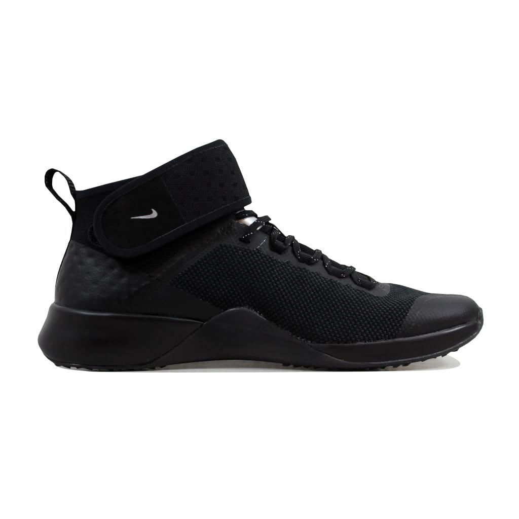 Shop Nike Women s Air Zoom Strong 2 Selfie Black Chrome AH8195-001 - Free  Shipping Today - Overstock - 23436782 9955d655b