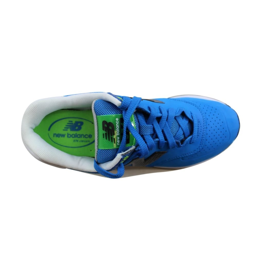 af8eac0129fb0 Shop New Balance Men's 574 Paint Chip Blue/Green-White ML574ACA Size 8 -  Free Shipping Today - Overstock - 27339222