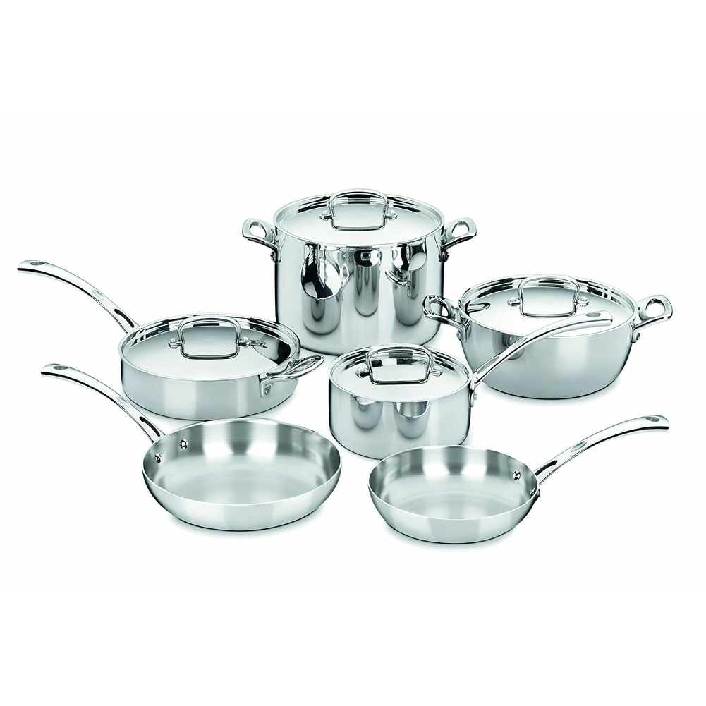 Shop Cuisinart FCT-10 French Classic Tri-Ply Stainless 10-Piece ...