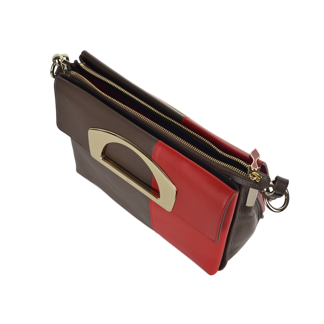 5fbdaec88e7 Christian Louboutin Womens Passage Ombre Multicolored Messenger Bag RTL$2450