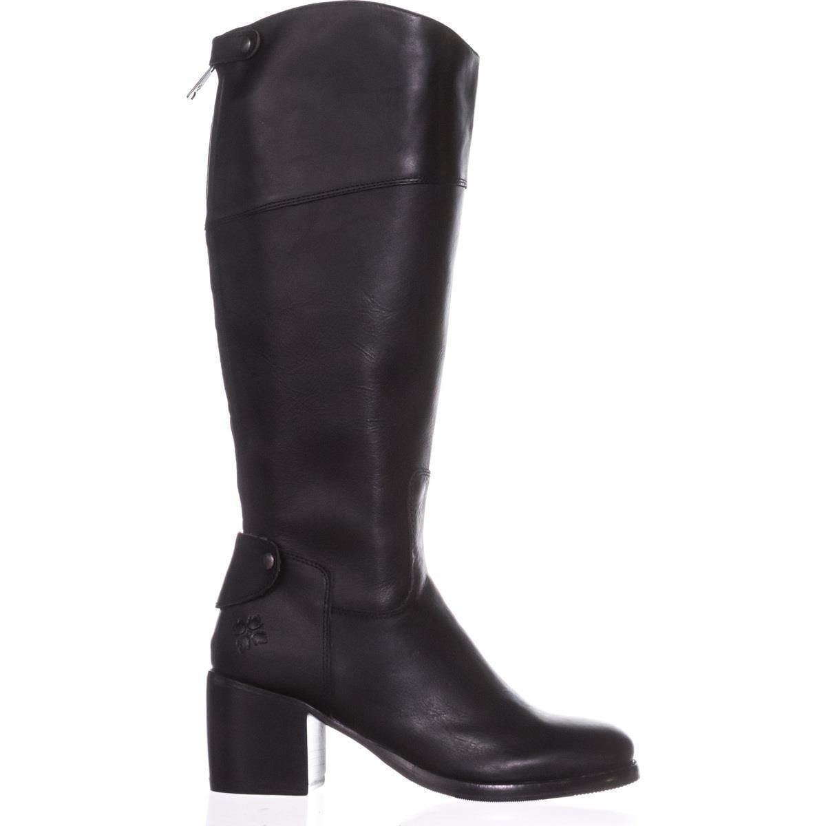 febbb382f8d Patricia Nash Loretta Wide Calf Riding Boots, Black