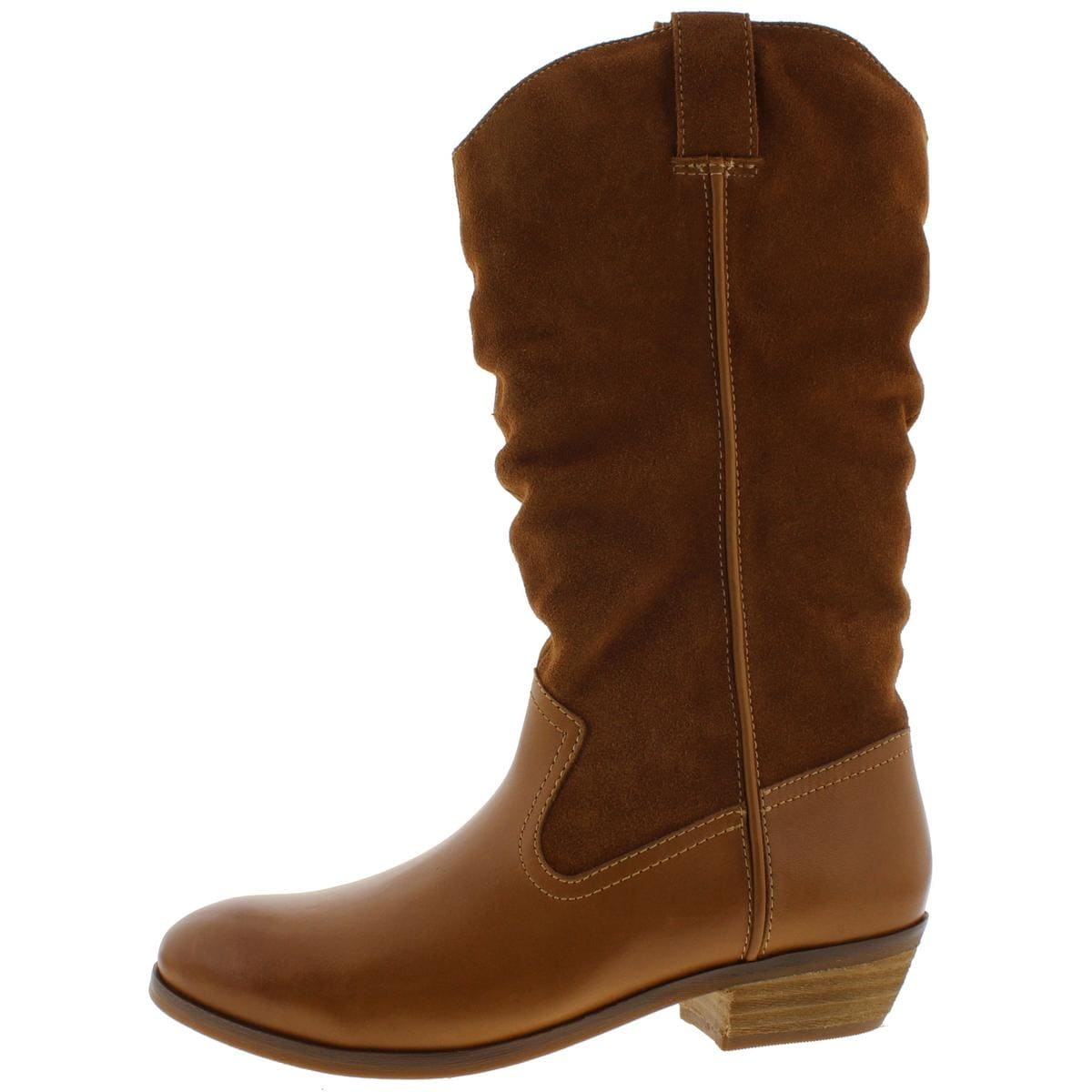 a59b15c2379a Shop SoftWalk Womens Rock Creek Mid-Calf Boots Leather Suede - Free  Shipping On Orders Over  45 - Overstock - 14615581