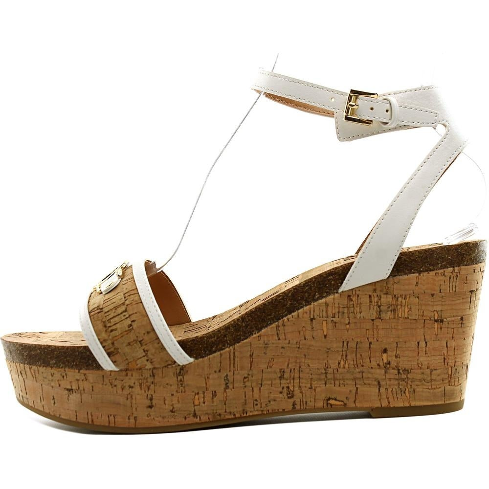 d25d3ea91f8216 Tommy Hilfiger Hesley Women Open Toe Synthetic Wedge Sandal - Free Shipping  On Orders Over  45 - Overstock.com - 21003767