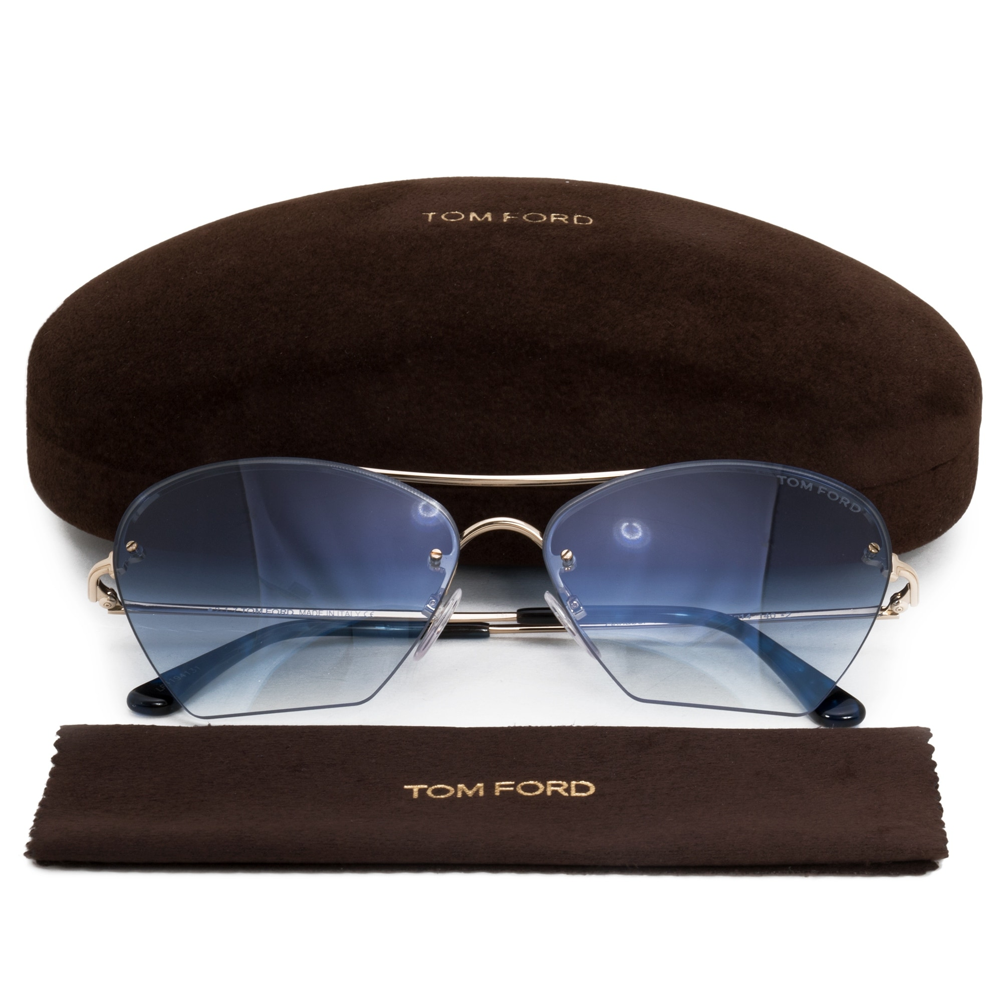 5d01a2c641 Shop Tom Ford Annabel Aviator Sunglasses FT0507 28W 58 - On Sale - Free  Shipping Today - Overstock - 21408600
