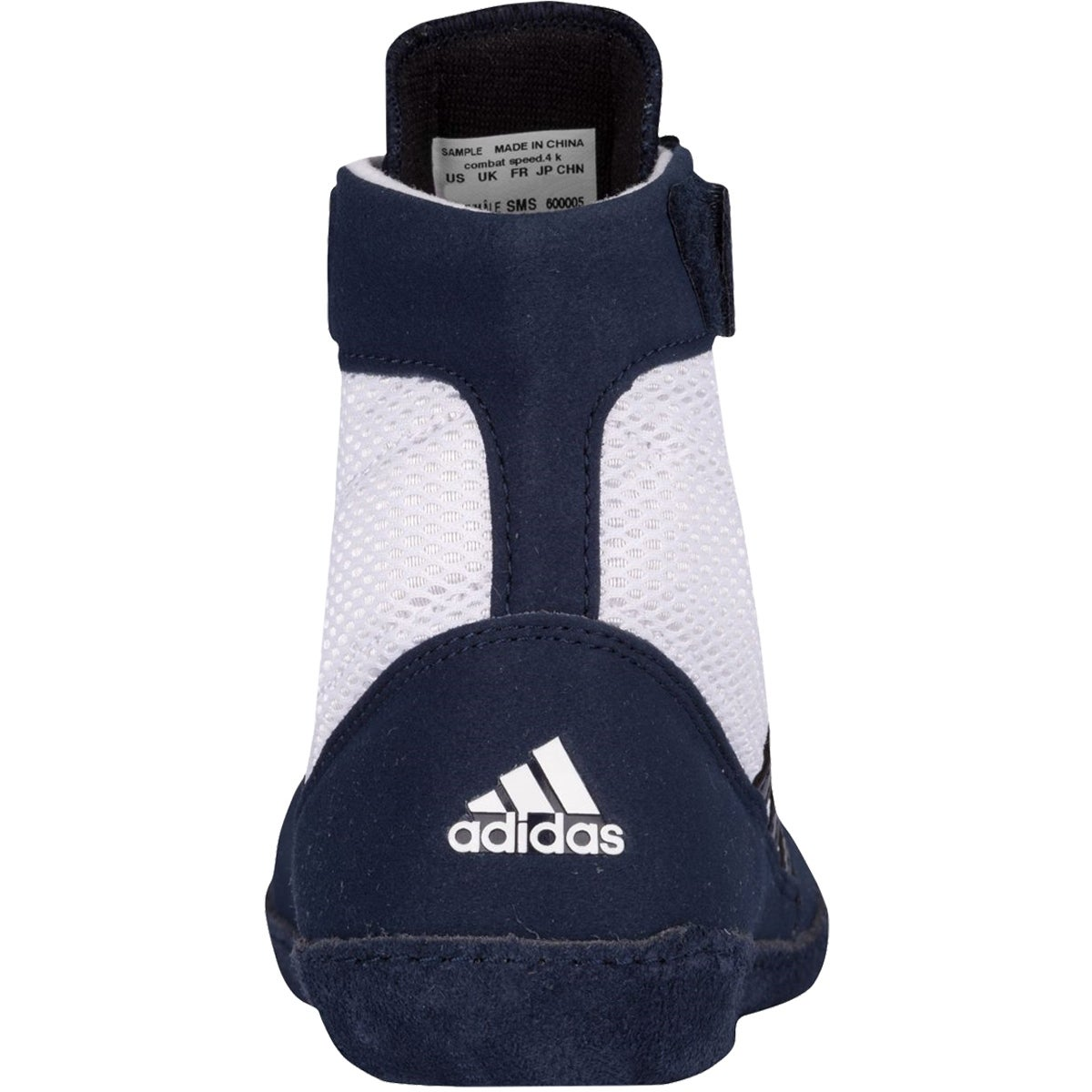 ef03d450a794 Shop Adidas Combat Speed 4 Youth Wrestling Shoes - White Navy - Free  Shipping Today - Overstock - 16629704