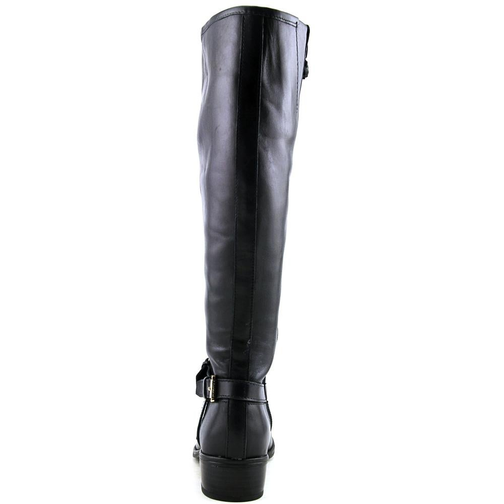 f00f51ca901f Shop Lauren Ralph Lauren Marion Wide Calf Women Round Toe Leather Knee High  Boot - Free Shipping Today - Overstock - 15299952
