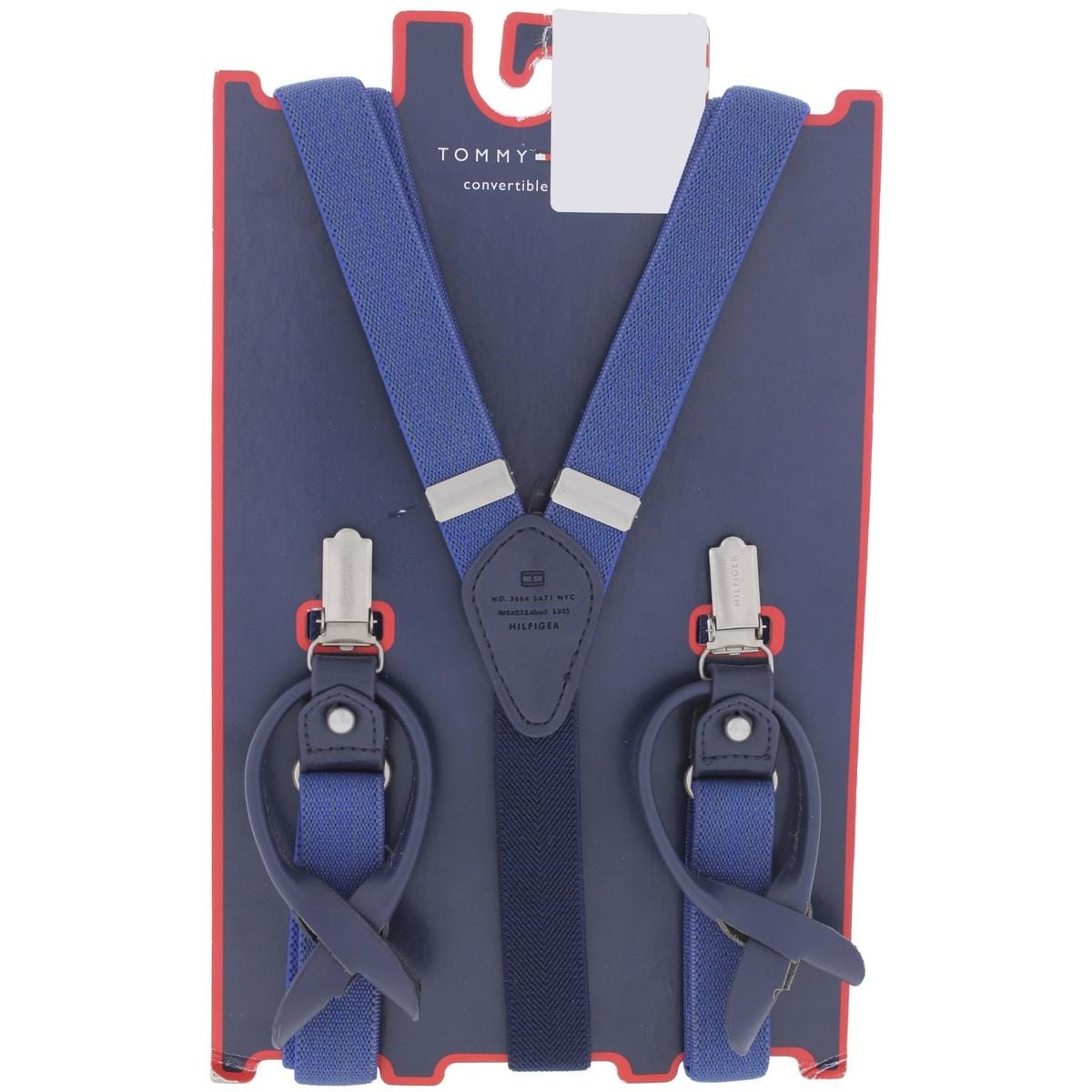 Shop Tommy Hilfiger Mens Y Shape Suspenders Woven Classic - o s - Free  Shipping On Orders Over  45 - Overstock.com - 22048334 f7bb005246