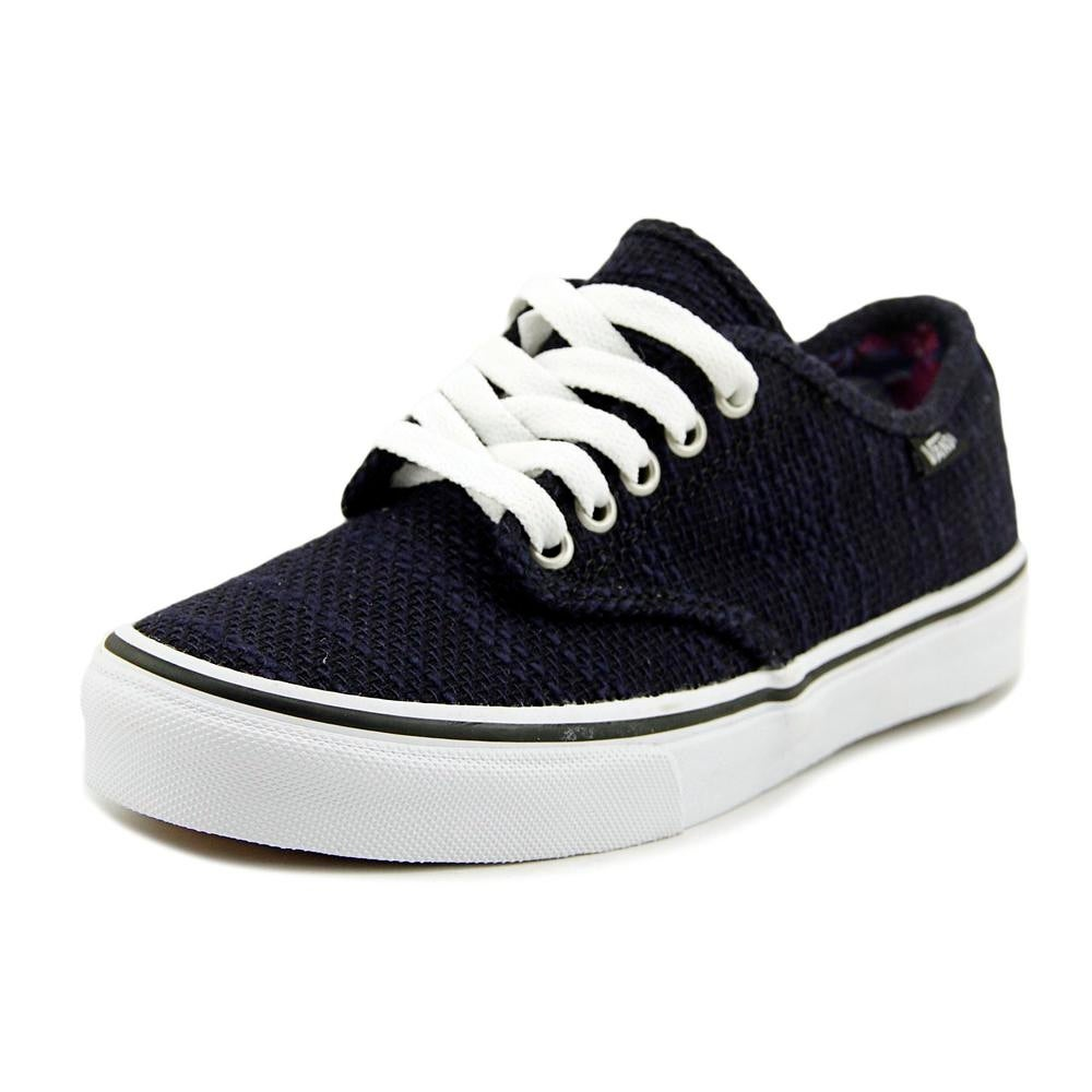 342bc2ad1be2 Shop Vans Camden Stripe Women Round Toe Canvas Sneakers - Free Shipping On  Orders Over  45 - Overstock - 18160038