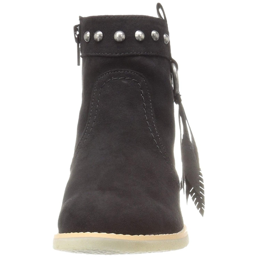 c0cb67d96221 Shop Dolce Vita Girls Pally Suede Ankle Zipper Wedge Boots - 11 m us little  kid - Free Shipping On Orders Over  45 - Overstock - 21903663