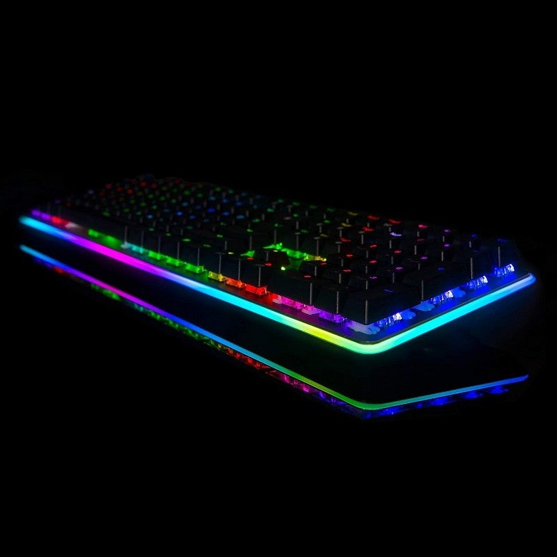 2f8066f2c44 Shop Rosewill Mechanical Gaming Keyboard, 22 RGB Backlit Modes, Blue  Switches - NEON K81 - Free Shipping Today - Overstock - 28035174