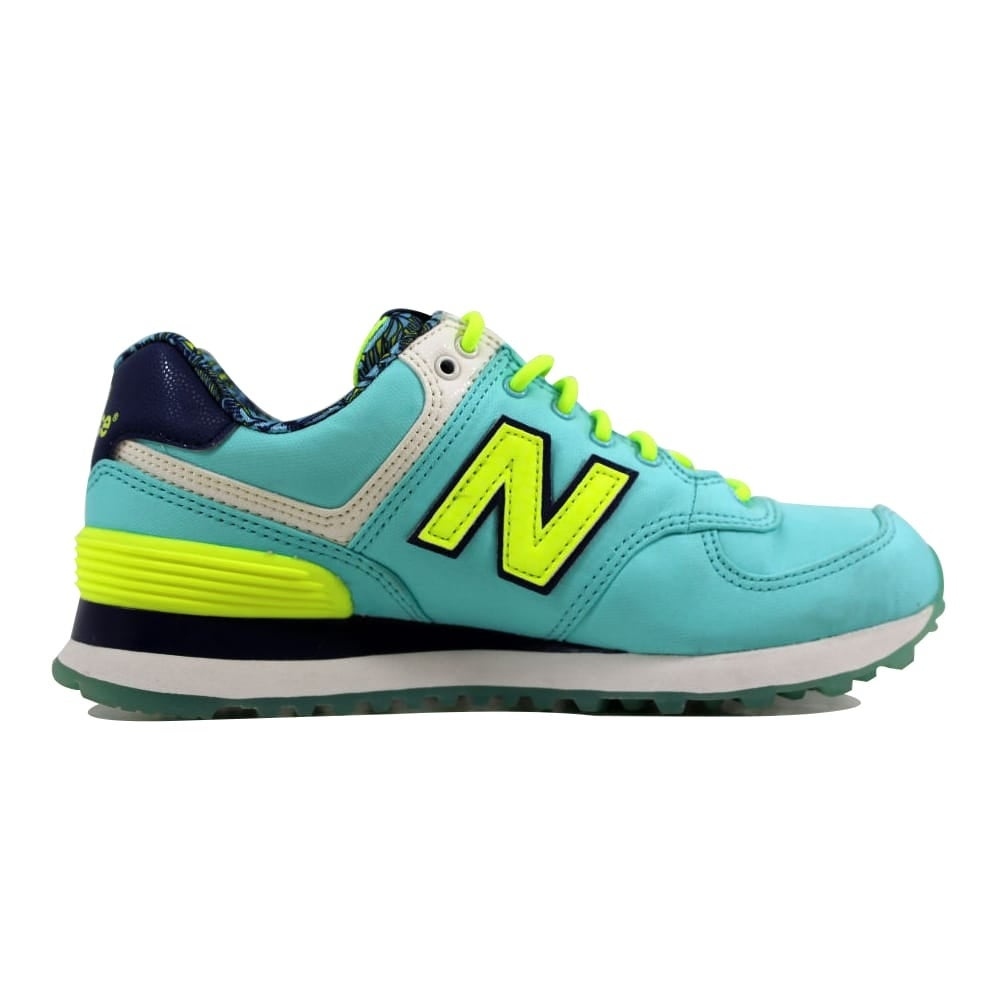 new balance blue yellow
