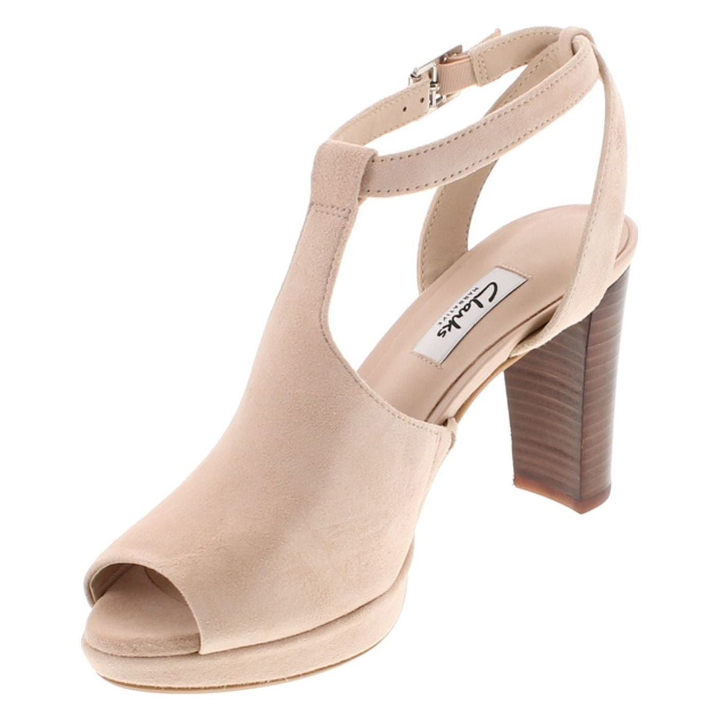 f24b4d60d388 Shop Clarks Women s Kendra Charm Peep Toe Ankle Strap Sandal - Free  Shipping Today - Overstock - 20672625