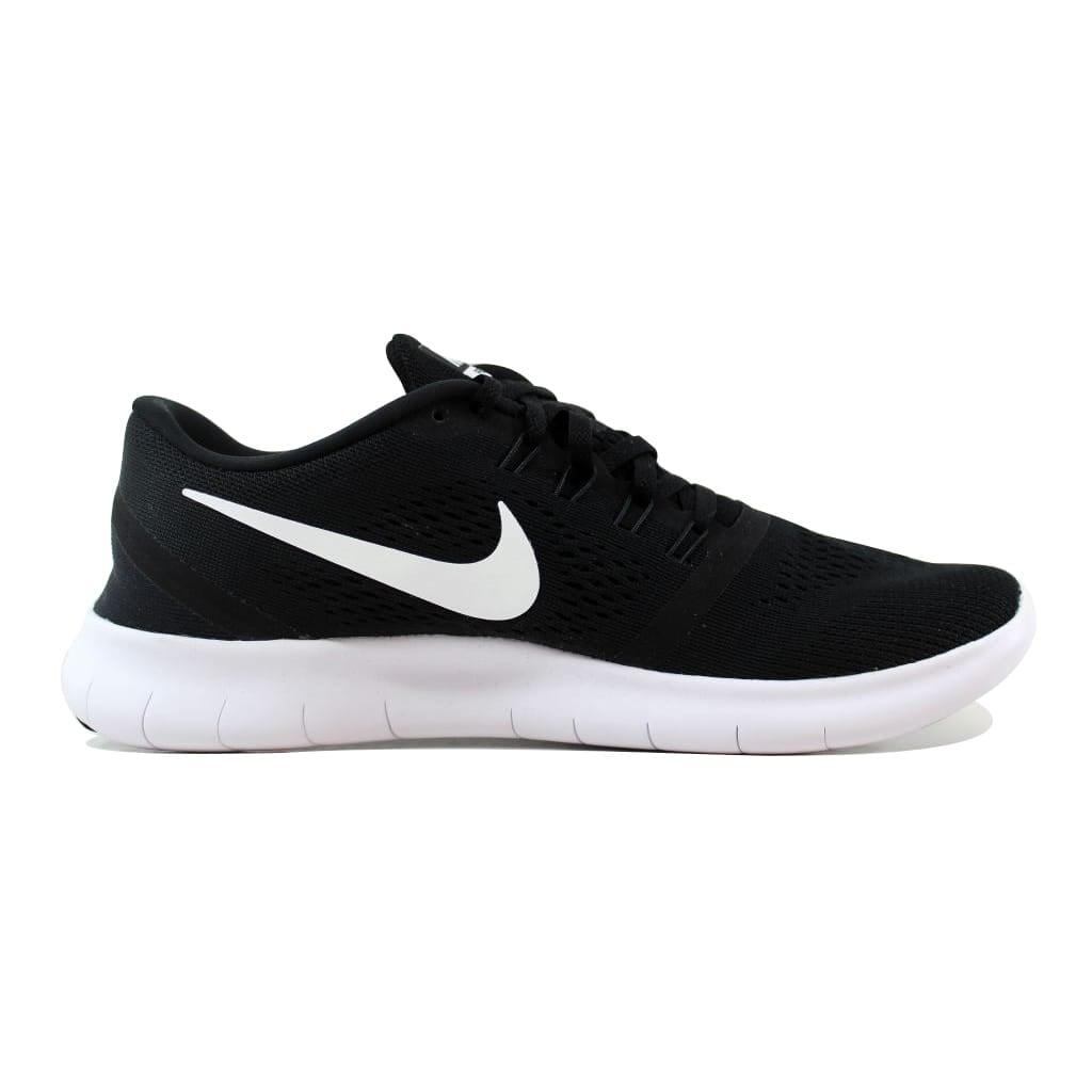 bb39fcd69c92 Shop Nike Free RN Black White-Anthracite 831508-001 Men s - Free ...