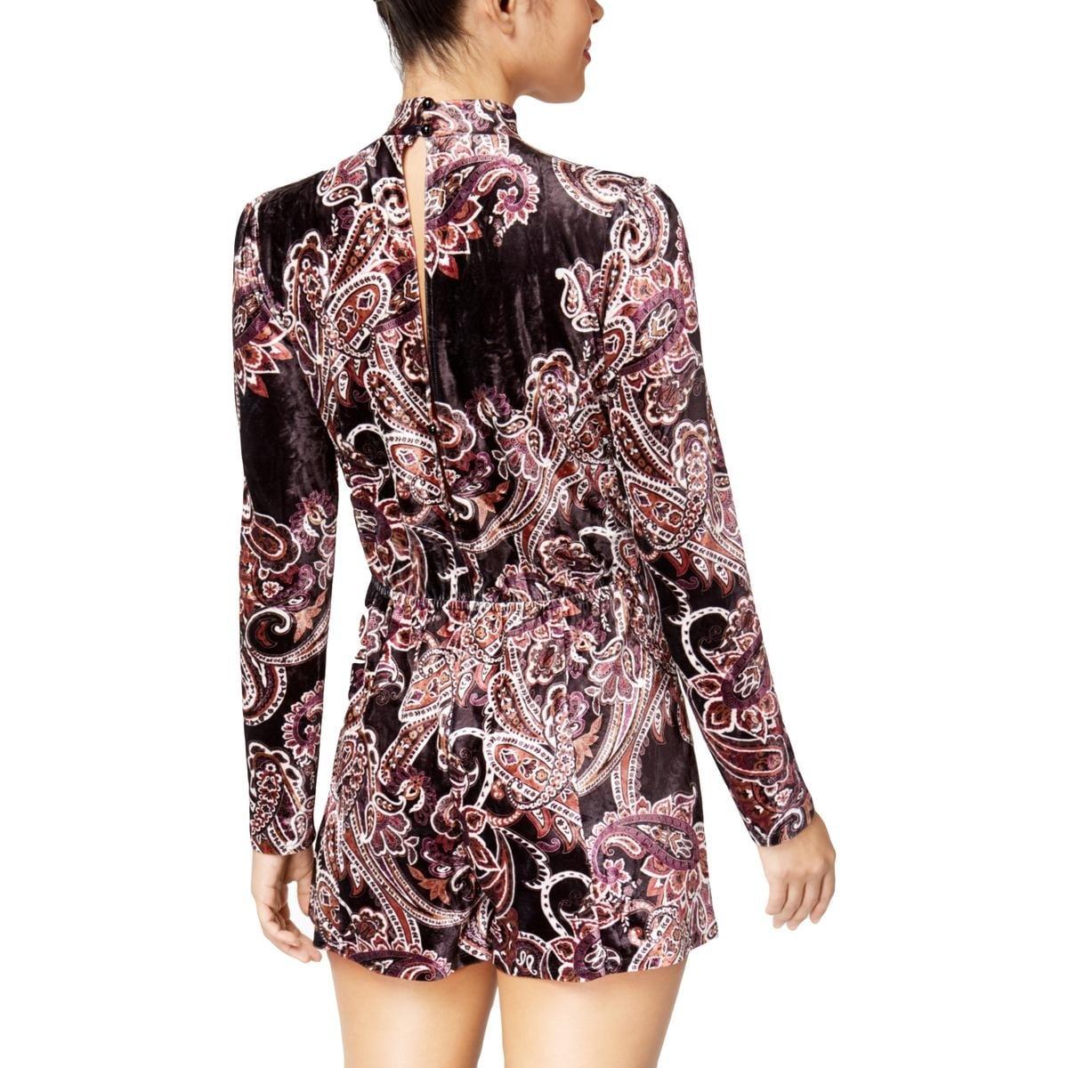 12658c4a5390 Shop Be Bop Womens Juniors Romper Velvet Choker - Free Shipping On Orders  Over  45 - Overstock.com - 27132456