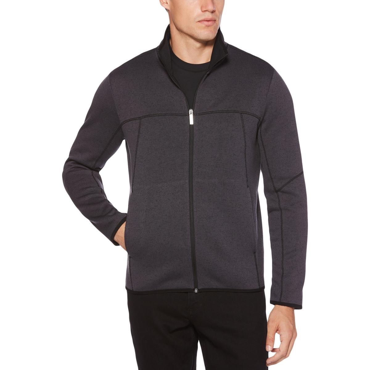 ba79686eaf Shop Perry Ellis Mens Full Zip Sweater Fleece Warm - XxL - Free Shipping On  Orders Over  45 - Overstock.com - 25604424