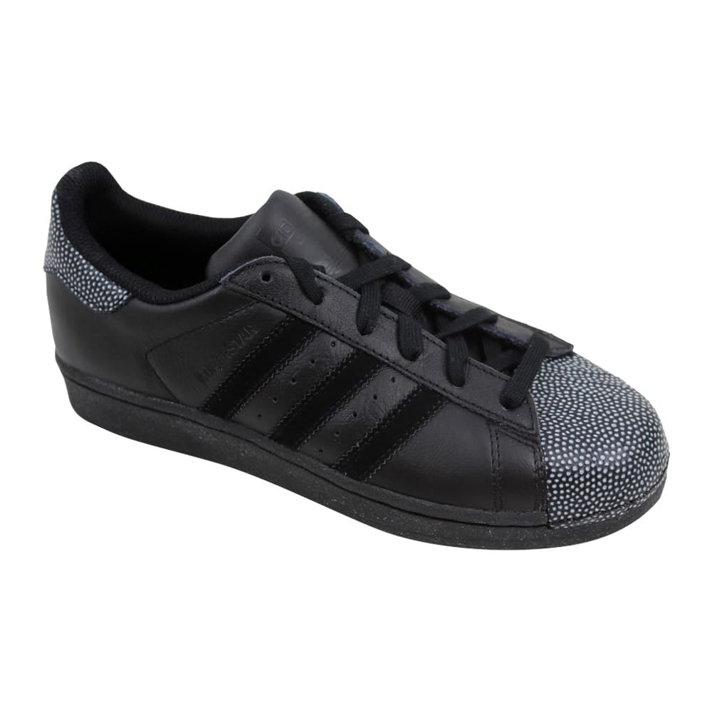 002ae54c51db3 Shop Adidas Superstar Ray Black J Black Black-White S76351 Grade-School - Free  Shipping Today - Overstock - 27601045
