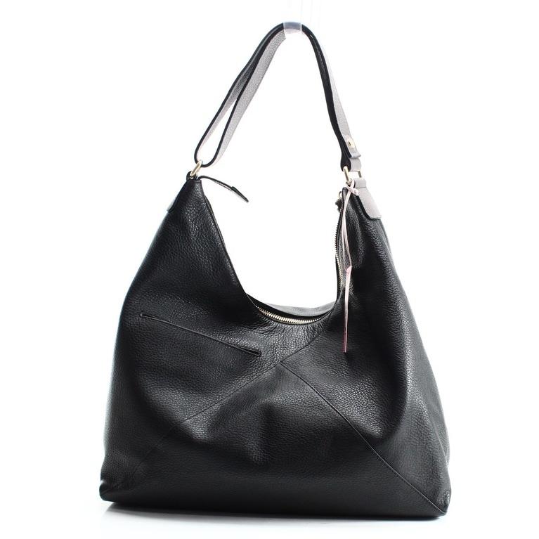 Radley London NEW Black Oxleas Leather Zip Top Hobo Shoulder Bag ...