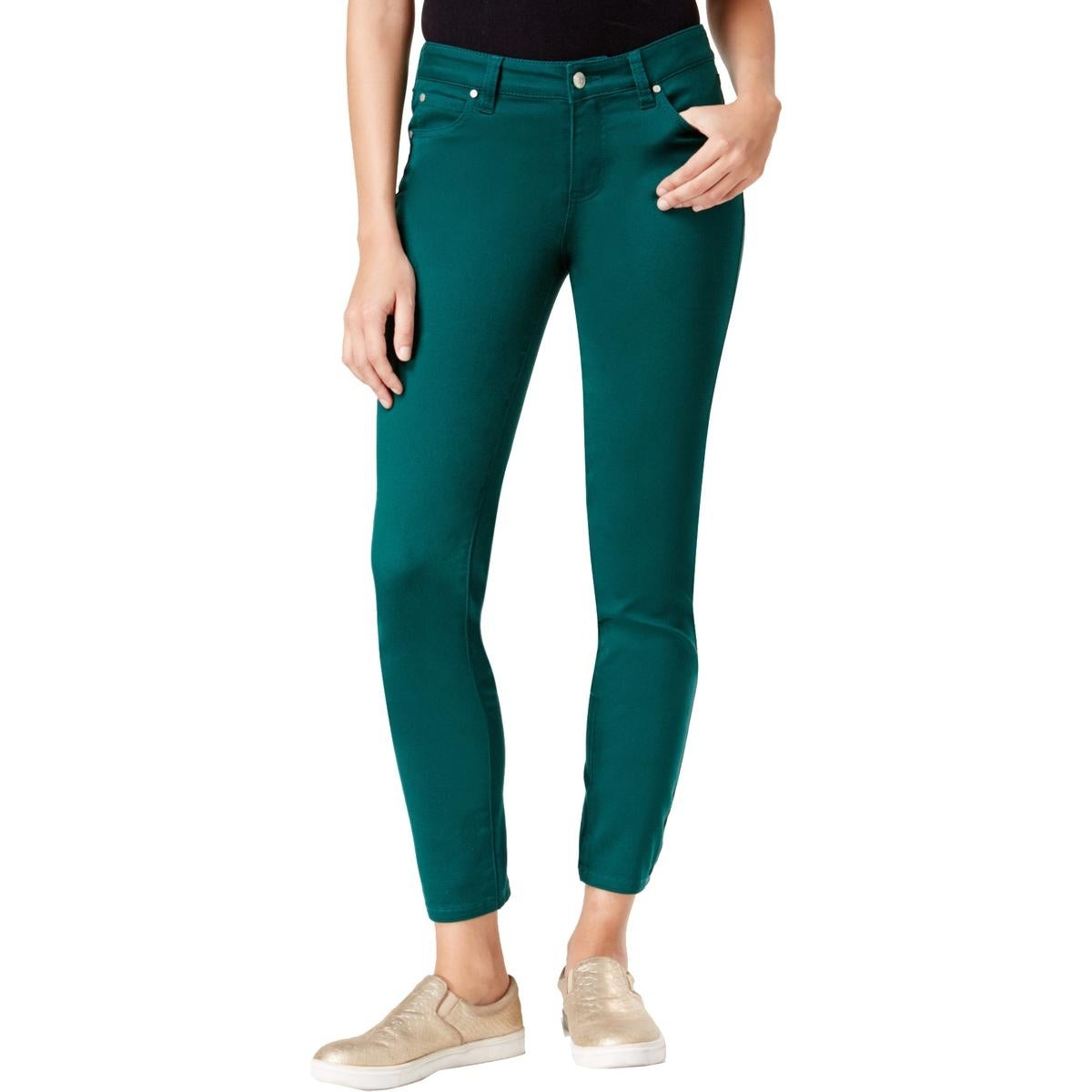 ec78c87c45d Shop Celebrity Pink Womens Juniors Jayden Skinny Jeans Colored Mid-Rise -  Free Shipping On Orders Over  45 - Overstock - 17404053