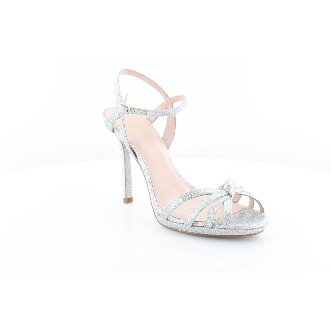 7a0a0023e2c Shop Kate Spade Florence Women s Heels Silver Thin Glitter - 8.5 - Free  Shipping Today - Overstock - 25685801