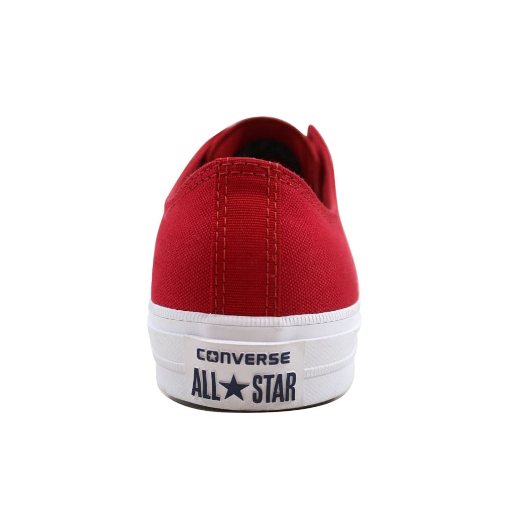 2d56510e76ced3 Shop Converse Men s Chuck Taylor II OX Salsa Red White 150151C - On Sale -  Free Shipping On Orders Over  45 - Overstock - 23436850