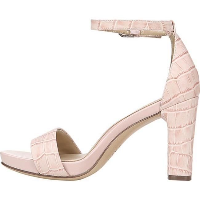 70104e5859 Shop Naturalizer Women's Joy Ankle Strap Sandal Rose Pink Croc Print  Leather - Free Shipping Today - Overstock - 28020382