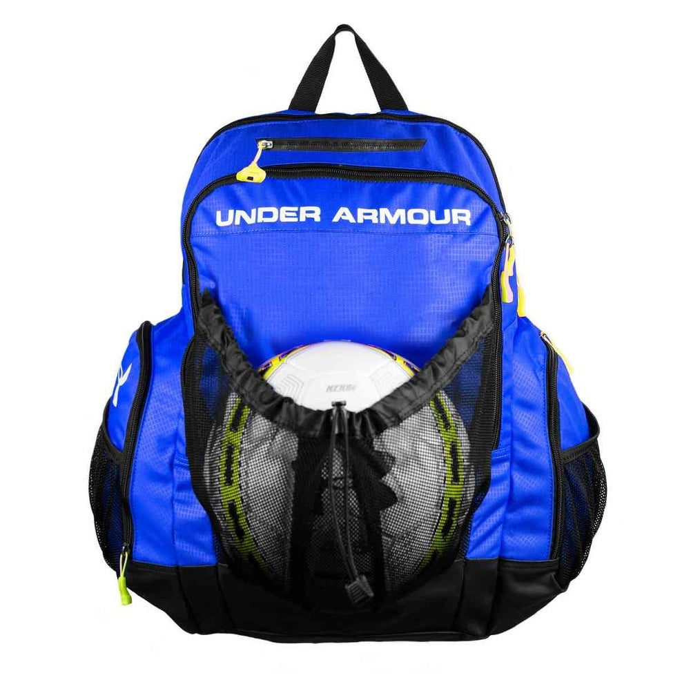 9713ffe2c1a Shop Under Armour Striker Soccer Backpack UASB-SBP - Free Shipping Today -  Overstock - 17762128