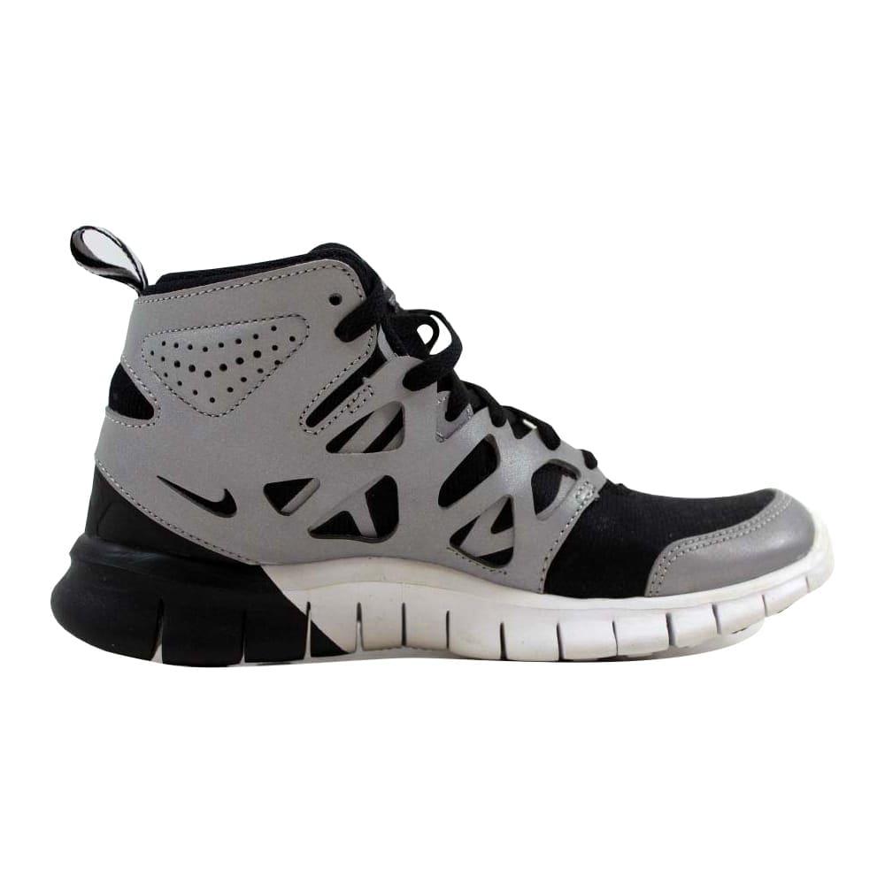 sale retailer 5286c 8fcea Nike Free Run 2 Sneakerboot Premium Black Black-Metallic Silver-White  Women s 616728-001 Size 5.5 Medium