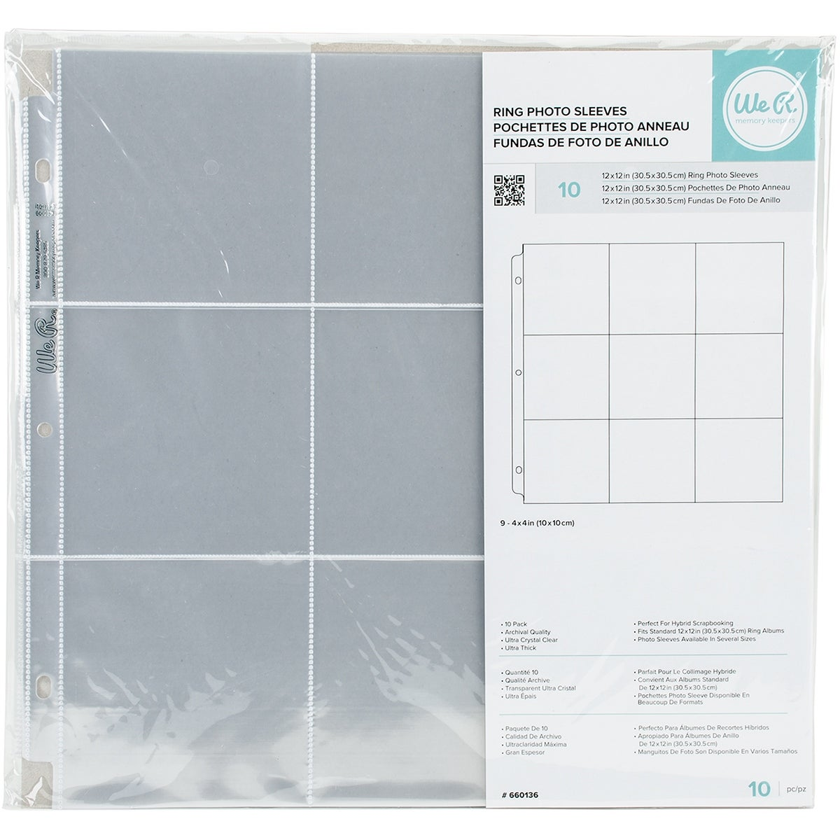 Shop Wr Memory Keepers 12 X 12 Inch 9 4 X 4 Inch Pockets 3 Ring