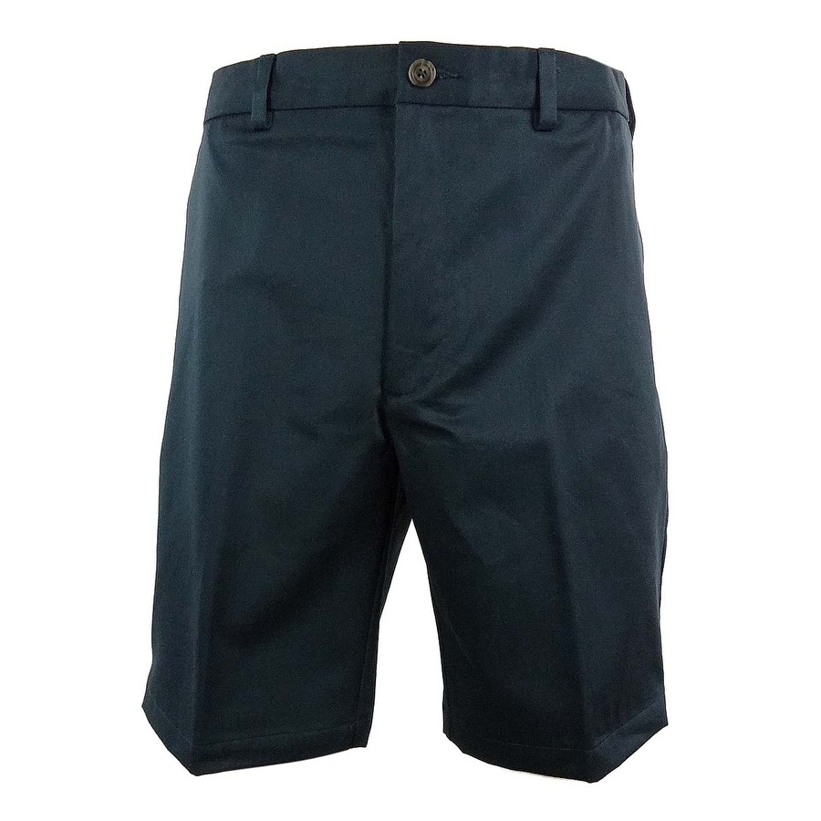 557a2b6b9e Shop Roundtree & Yorke Big & Tall Men's Easy Care Flat Front Shorts - Free  Shipping On Orders Over $45 - Overstock - 15019190