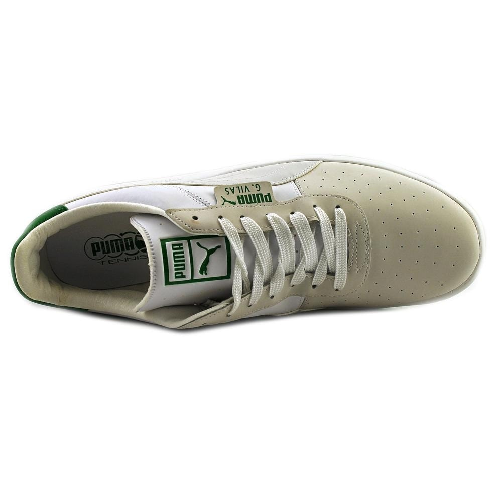 1a060dd587c5 Shop Puma G. Vilas 2 Men Round Toe Leather White Tennis Shoe - Free  Shipping Today - Overstock - 15093276