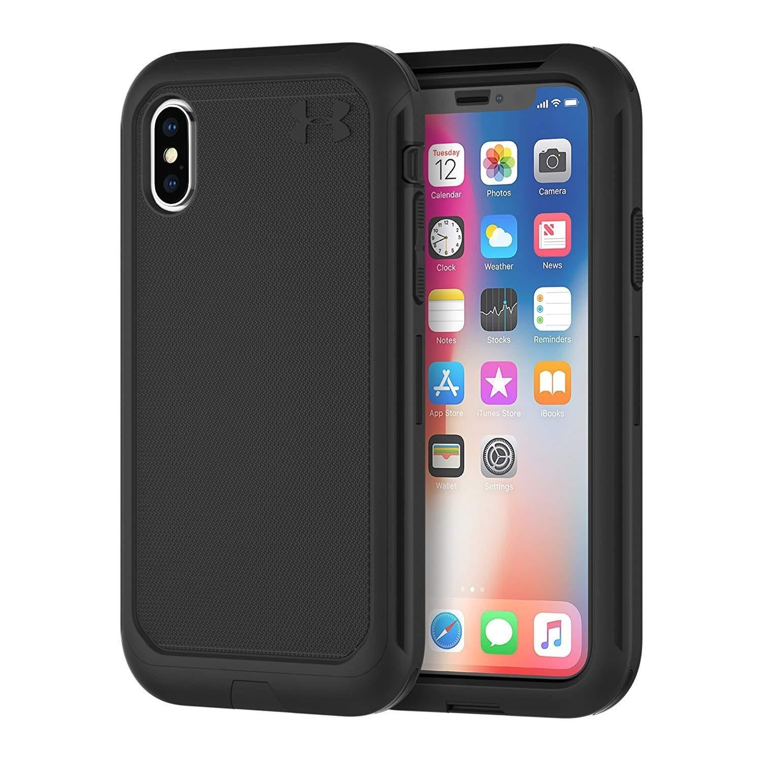 hot sale online ba689 c91c5 Under Armour UA Protect Ultimate Case for iPhone Xs/iPhone X - Black