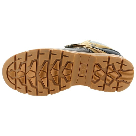 Shop U.S. Polo Assn. Kedge Men s Buckle Duck Toe Boots - Free Shipping  Today - Overstock.com - 19790253 1df48e825