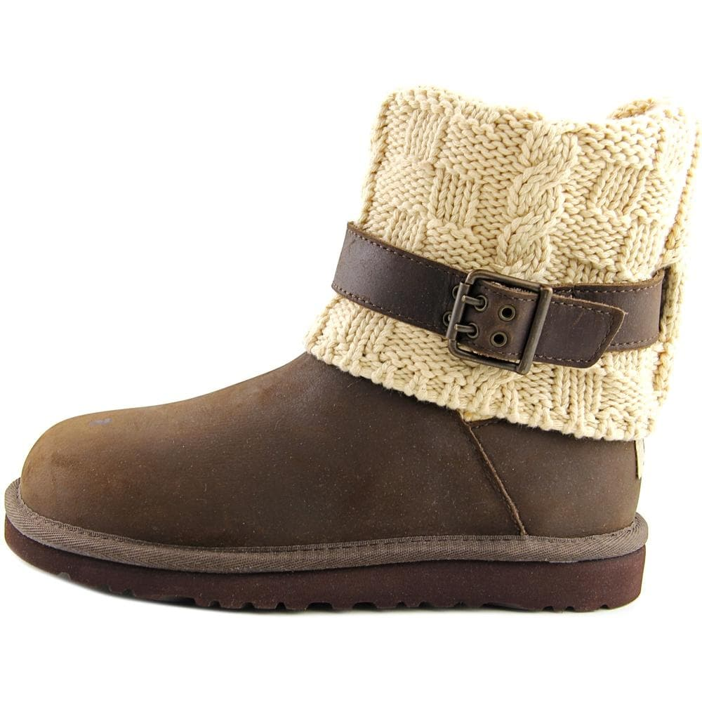772c1708280 Ugg Australia Cambridge Youth Round Toe Suede Brown Winter Boot