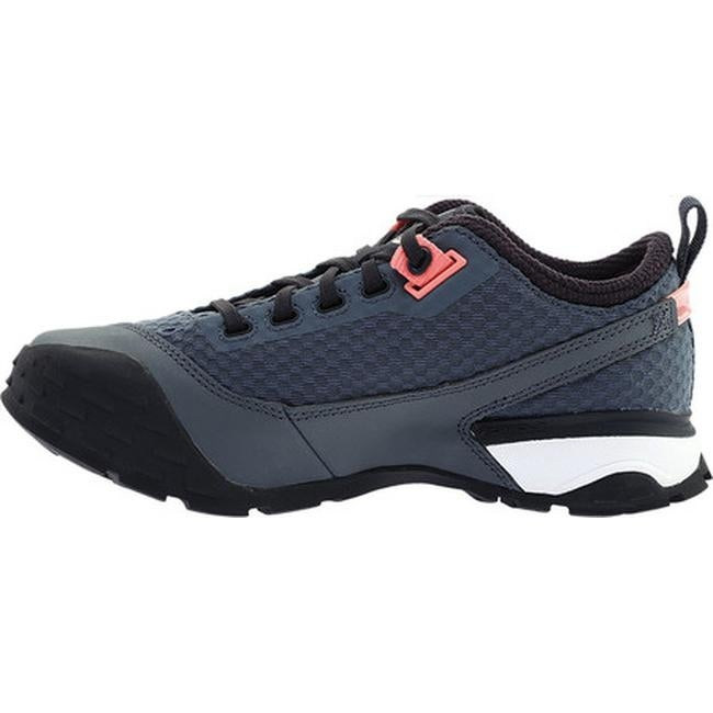 9997a1097818 Shop The North Face Women s One Trail Shoe Turbulence Grey Desert Flower  Orange - Free Shipping Today - Overstock - 20561723