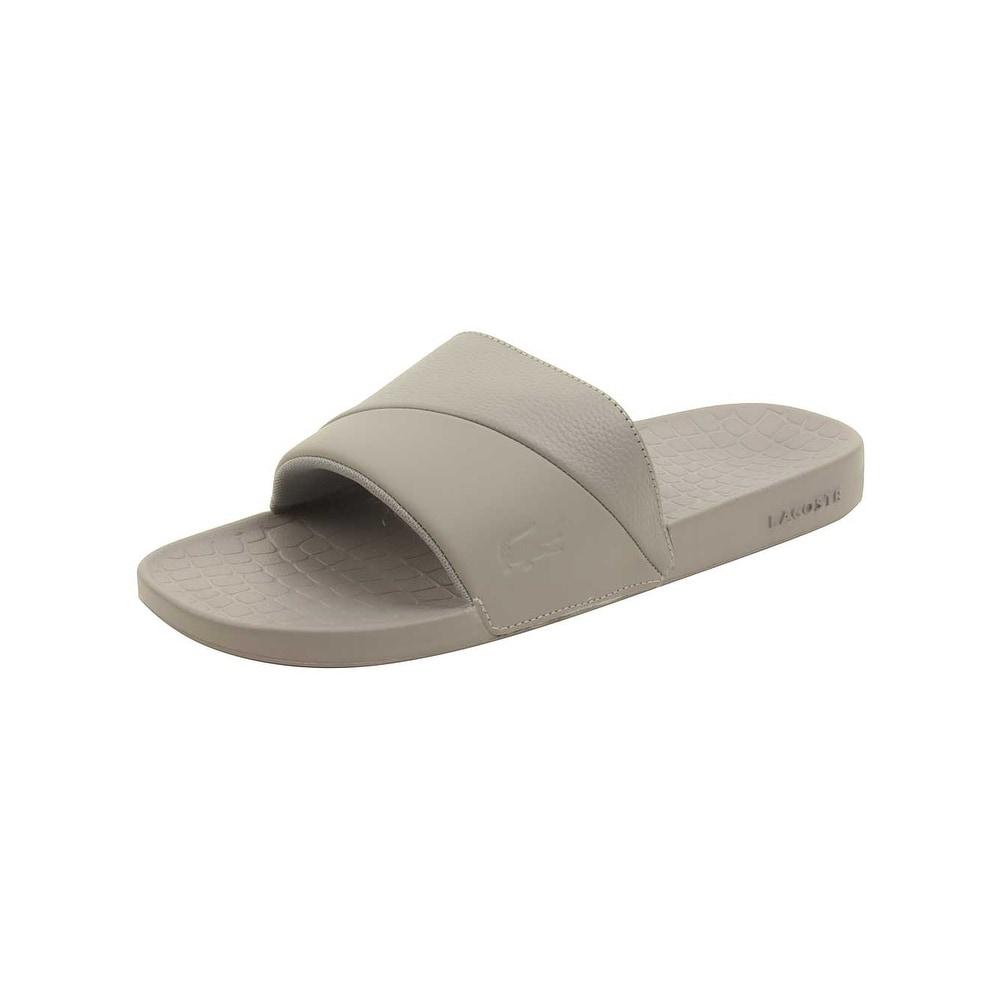 afae70856 Shop Lacoste Men s Fraisier 118 3 U Slide Sandal - Ships To Canada -  Overstock - 20460734