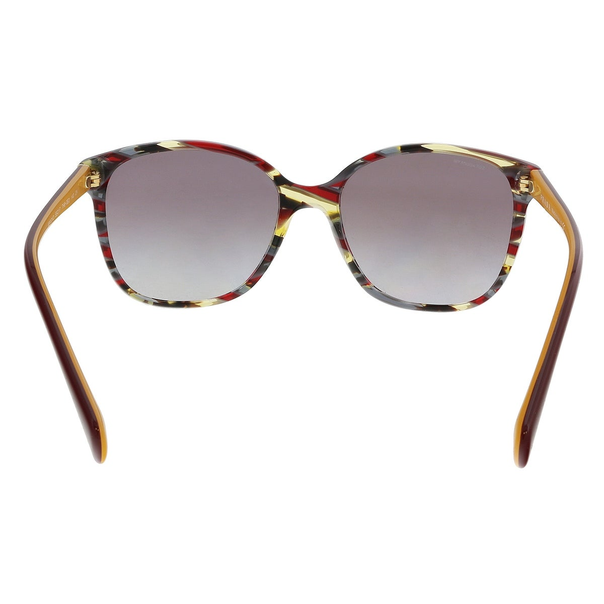 1fe5295529e57 Shop Prada PR01OS TH63E2 Havana   Ears bord yellow Square Sunglasses -  55-17-140 - Free Shipping Today - Overstock - 21158249