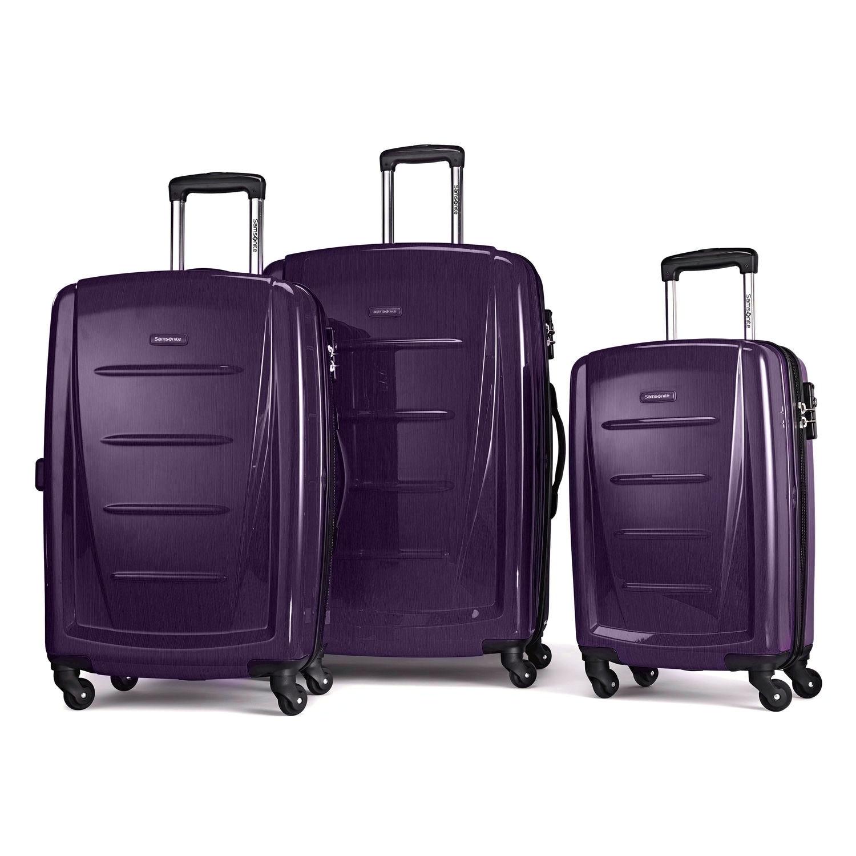 00b52cb42 Shop Samsonite Winfield Fashion 2 HS 3 Piece Set - Free Shipping Today -  Overstock - 14504699