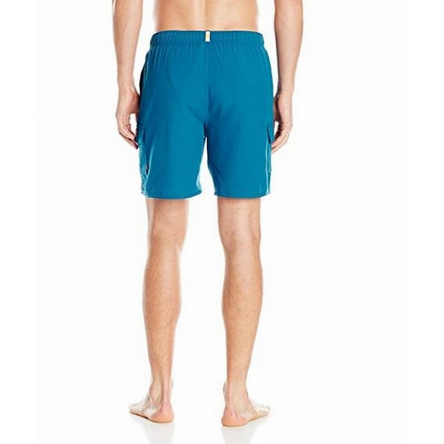 0c04b9ad72 Shop Quiksilver Blue Mens Size Large L Pull-On Swimwear Volley ...