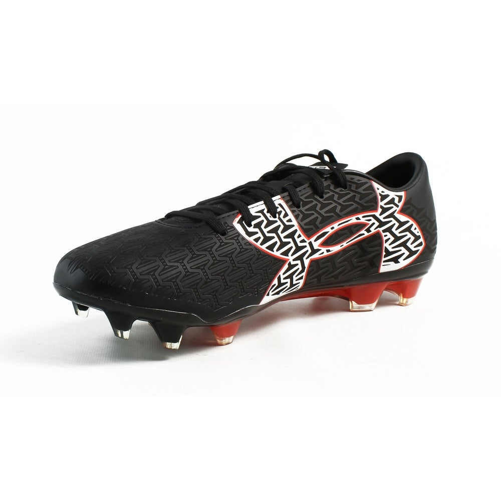 Shop Under Armour Mens Ua Corespeed Force 2.0 Fg Black rocketRed white  Soccer - Free Shipping On Orders Over  45 - Overstock.com - 23465447 ecf7137b3