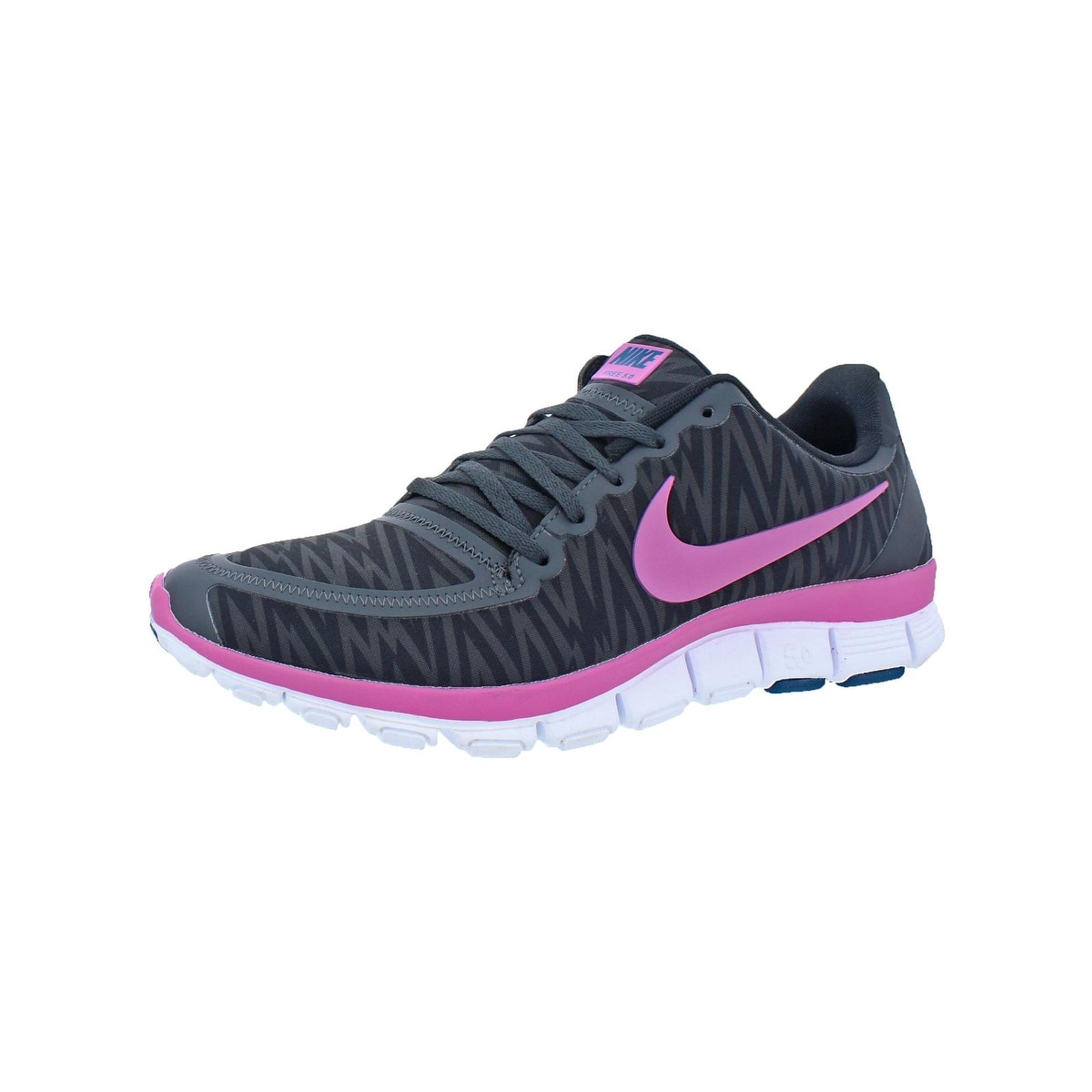 super popular 2a165 412d9 Nike Womens Free 5.0 V4 Running Shoes Training Flexible