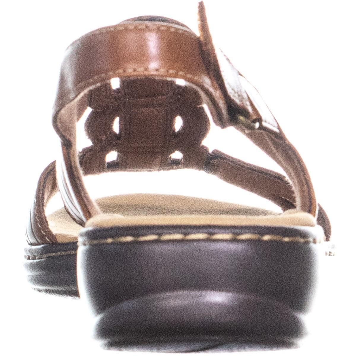 5578731a0d25 Shop Clarks Leisa Vine Caged Sling Back Flat Sandals