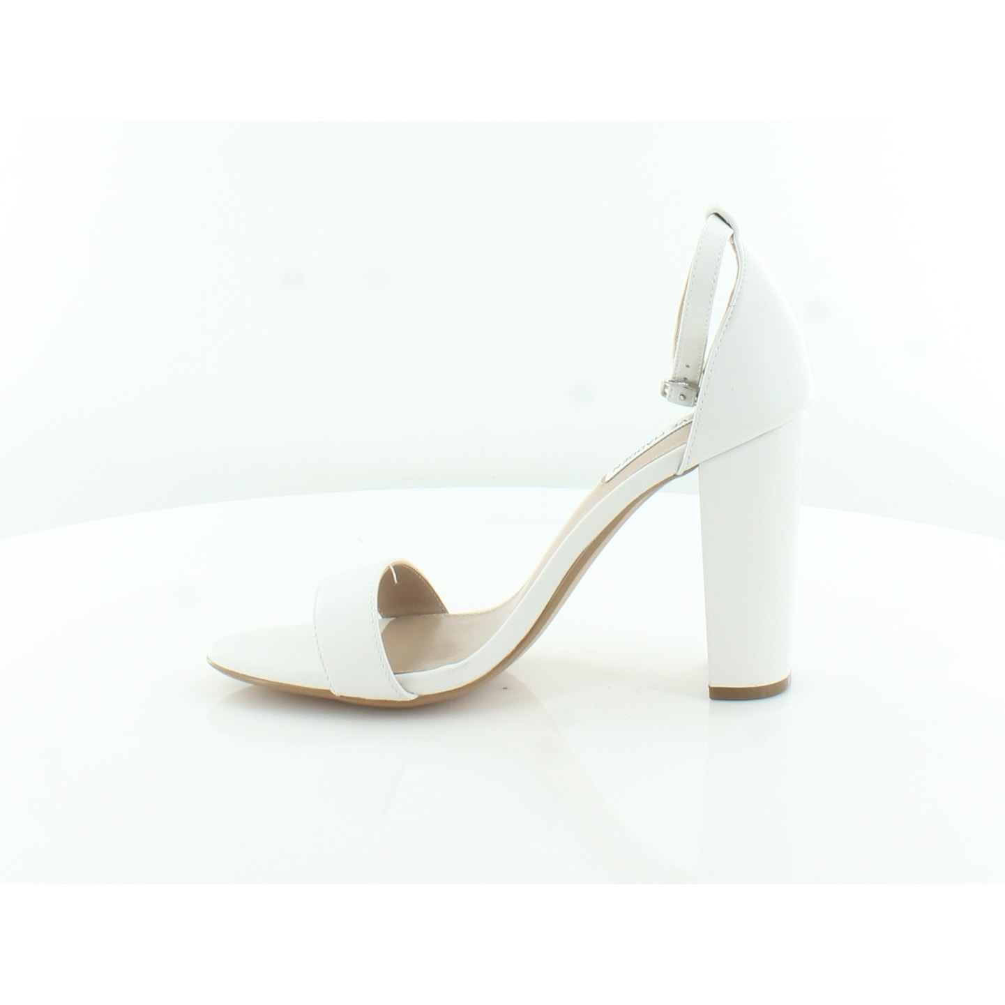 6aee6f3f0ad5 Shop Steve Madden Carrson Women s Heels White - 9 - Free Shipping Today -  Overstock - 27481107