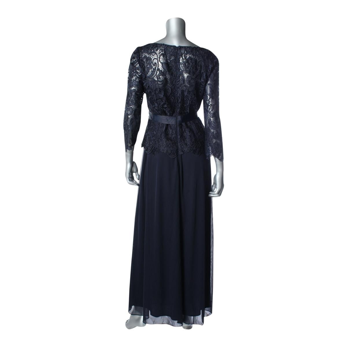 3750cef86ee Shop Patra Womens Mother of the Bride Dress Lace 3 4 Sleeves - Free  Shipping Today - Overstock - 14052357