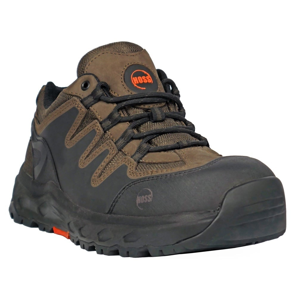 Shop Hoss Boots Mens Eric Lo Aluminum Toe Eh Work S Casual Work Safety Shoes Overstock 28433307