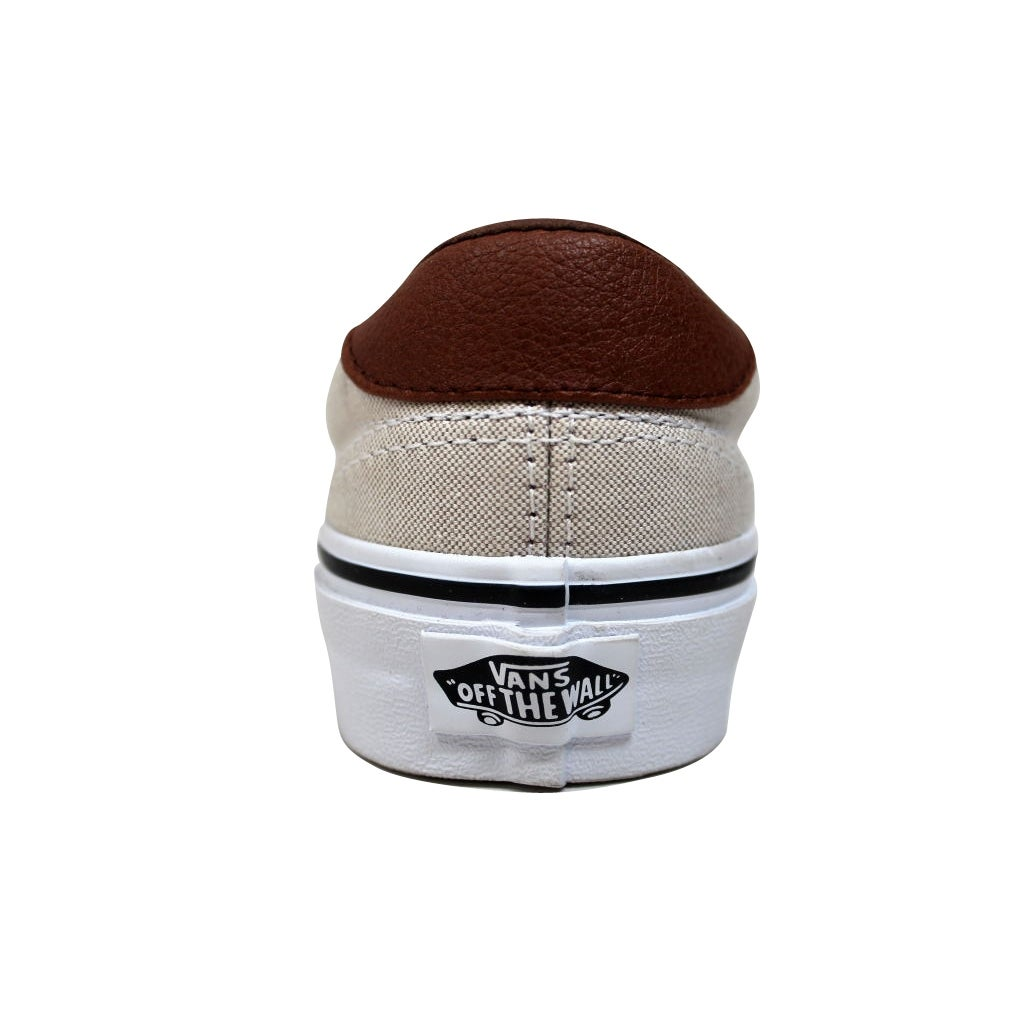 fa52509399 Shop Vans Men s Era 59 Khaki True White Oxford And Leather VN0003S4IHE Size  4.5 - Free Shipping On Orders Over  45 - Overstock - 19507775