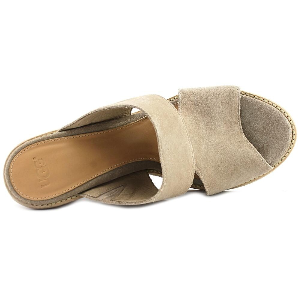 c2f77abbeaa UGG Celia Women Open Toe Suede Gray Sandals