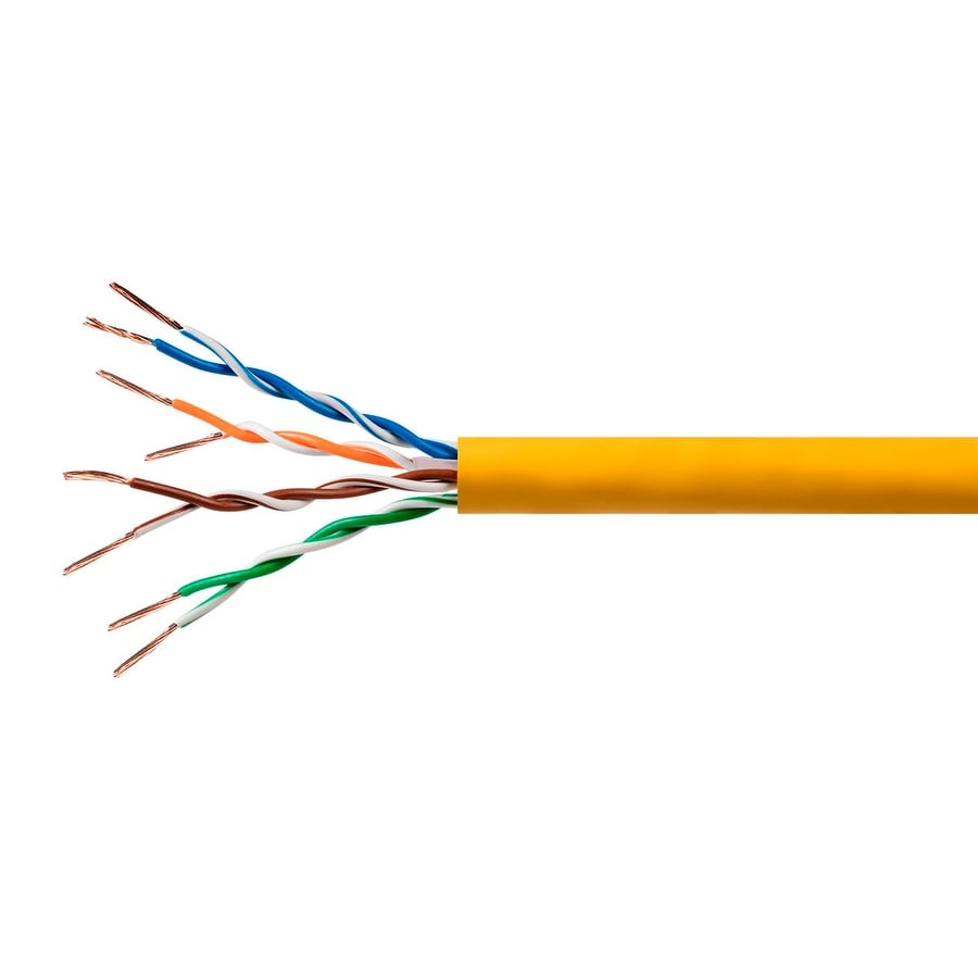 Shop Cat6 Ethernet Bulk Cable Solid 500Mhz UTP Copper Wire 23AWG ...
