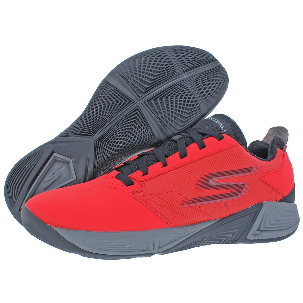 965a434280e Shop Skechers Torch LT Men s Synthetic Low Top Basketball Shoes Red Size 12  - 12 medium (d) - Free Shipping Today - Overstock - 22732957