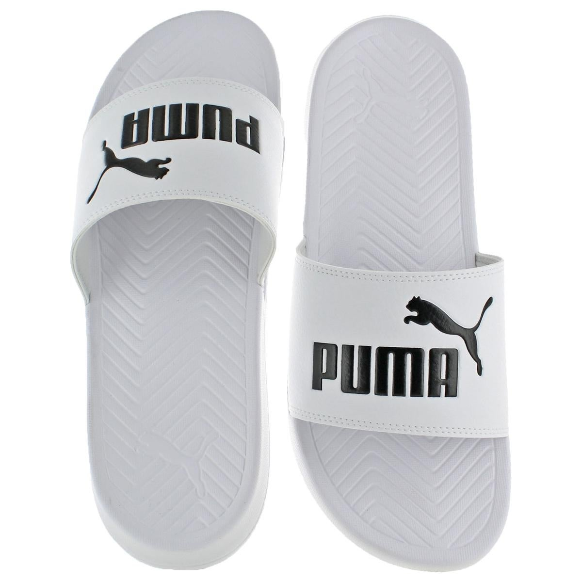 03c6ec6e35c Shop Puma Mens Popcat Slide Sandals Lightweight Pool Slide - Free Shipping  On Orders Over  45 - Overstock - 22320581