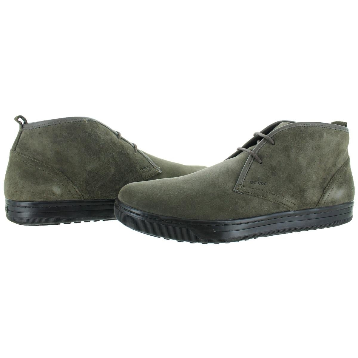 368334ae24e Shop Geox Mens Rikin Chukka Boots Suede Breathable - Free Shipping Today -  Overstock - 23589545